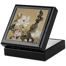 Chen HongShou Leaf Album Painting Keepsake Box