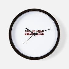 Maroon Speak Out! Wall Clock