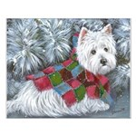 Patches Rescue Westie Small Poster