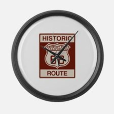 Century City Historic Route 66 Large Wall Clock
