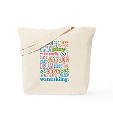 Waterskiing Gift Tote Bag
