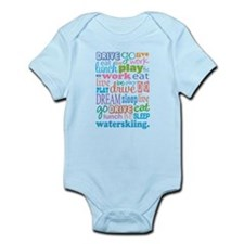 Waterskiing Gift Infant Bodysuit
