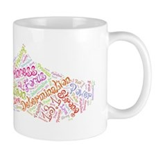 Princess half marathon tennis shoe 13.1 Mug