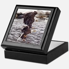 Striking Eagles Keepsake Box