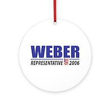 Weber 2006 Ornament (Round)