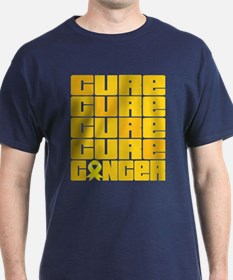 CURE Testicular Cancer Collage T-Shirt