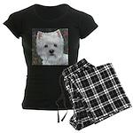 Sweetpea Westie Women's Dark Pajamas