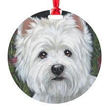 Sweetpea Westie Ornament