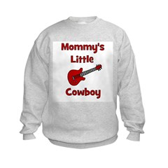 Mommy's Little Cowboy Sweatshirt