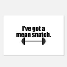 Mean Snatch Postcards (Package of 8)