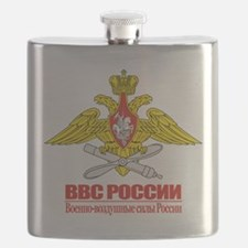 Russian Air Force Emblem Flask