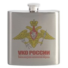 Russian Aerospace Defense Emblem Flask