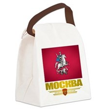 Moscow Flag Canvas Lunch Bag