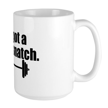 Mean Snatch Large Mug