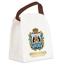 Novgorod Oblast COA Canvas Lunch Bag