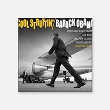 Barack Obama COOL STRUTTIN' Jazz Album Cover Squar