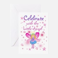 Birthday Angel Birthday Invitations