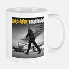 Barack Obama COOL STRUTTIN' Jazz Album Cover Mug