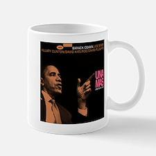 Barack Obama UNA MAS Jazz Album Cover Mug
