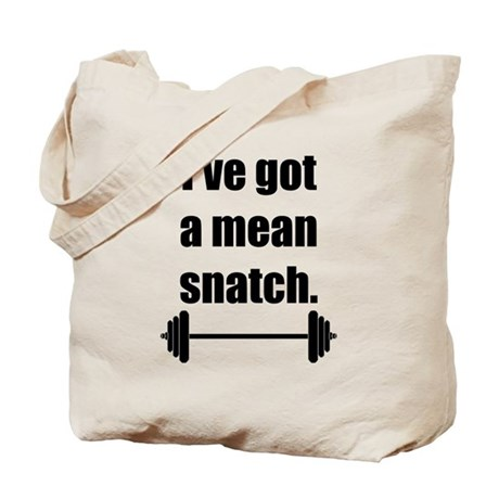 Mean Snatch Tote Bag