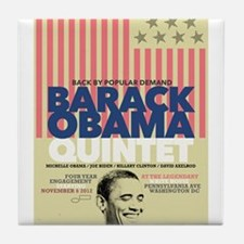 Barack Obama Mock Jazz Concert Poster NOVEMBER 6 T