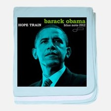 Barack Obama HOPE TRAIN Jazz Album Cover baby blan