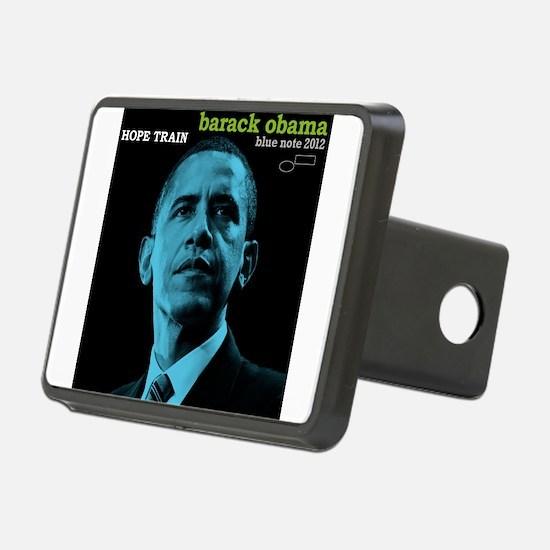 Barack Obama HOPE TRAIN Jazz Album Cover Rectangul