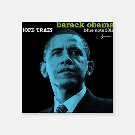 Barack Obama HOPE TRAIN Jazz Album Cover Square St