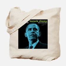 Barack Obama HOPE TRAIN Jazz Album Cover Tote Bag