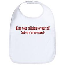 Keep Your Religion Bib