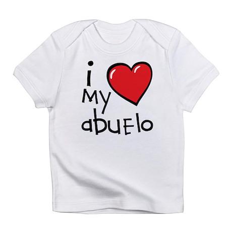 I Love My Abuelo Baby T-Shirt