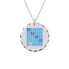 CURE Prostate Cancer Collage Necklace