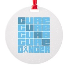CURE Prostate Cancer Collage Ornament