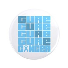 """CURE Prostate Cancer Collage 3.5"""" Button (100 pack"""
