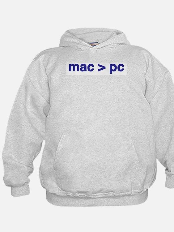 mac > pc - Hoodie