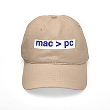 mac > pc - Baseball Cap Khaki