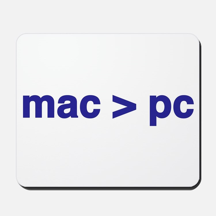 mac > pc - Mousepad
