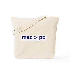 mac > pc - Tote Bag