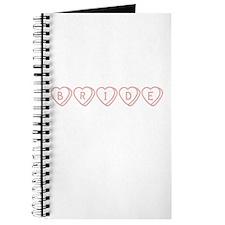 """Bride"" Hearts Journal"