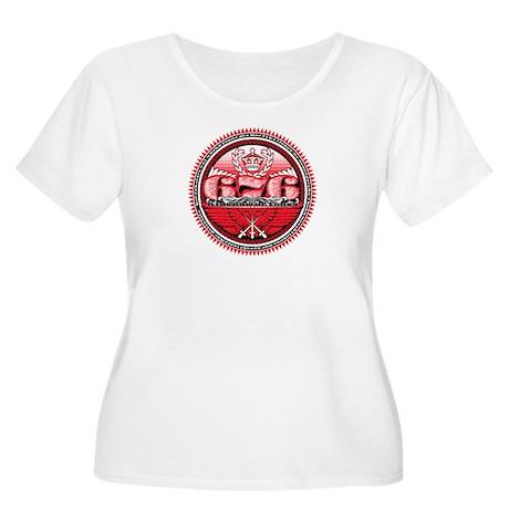 676 Official Unity Seal Women's Plus Size Scoop Ne