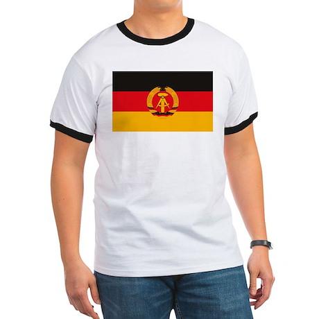 East Germany Flag Ringer T