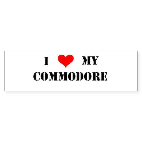 Commodore Bumper Sticker