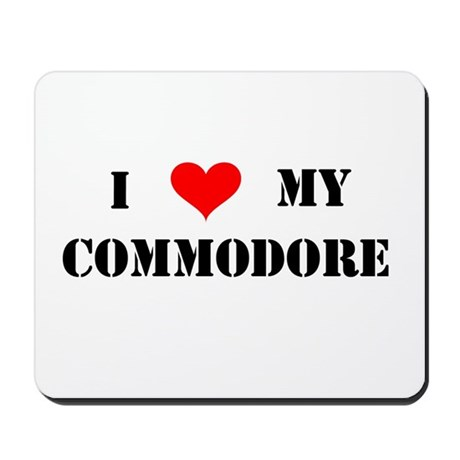 Commodore Mousepad