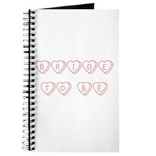 """""""Bride to Be"""" Hearts Journal"""