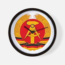 East German Coat of Arms Wall Clock