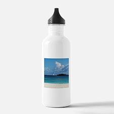 Nassau Bahamas Beach Lighthouse Water Bottle