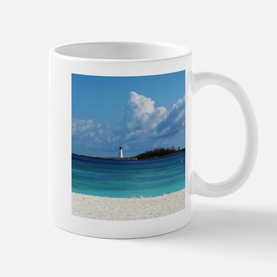 Nassau Bahamas Beach Lighthouse Mug
