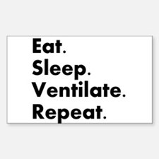 Respiratory Therapy Decal