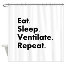 Respiratory Therapy Shower Curtain