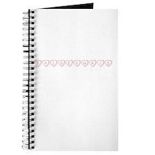 """""""Bridesmaid"""" Hearts Journal"""